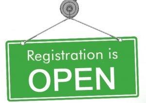 Image result for registration open sign