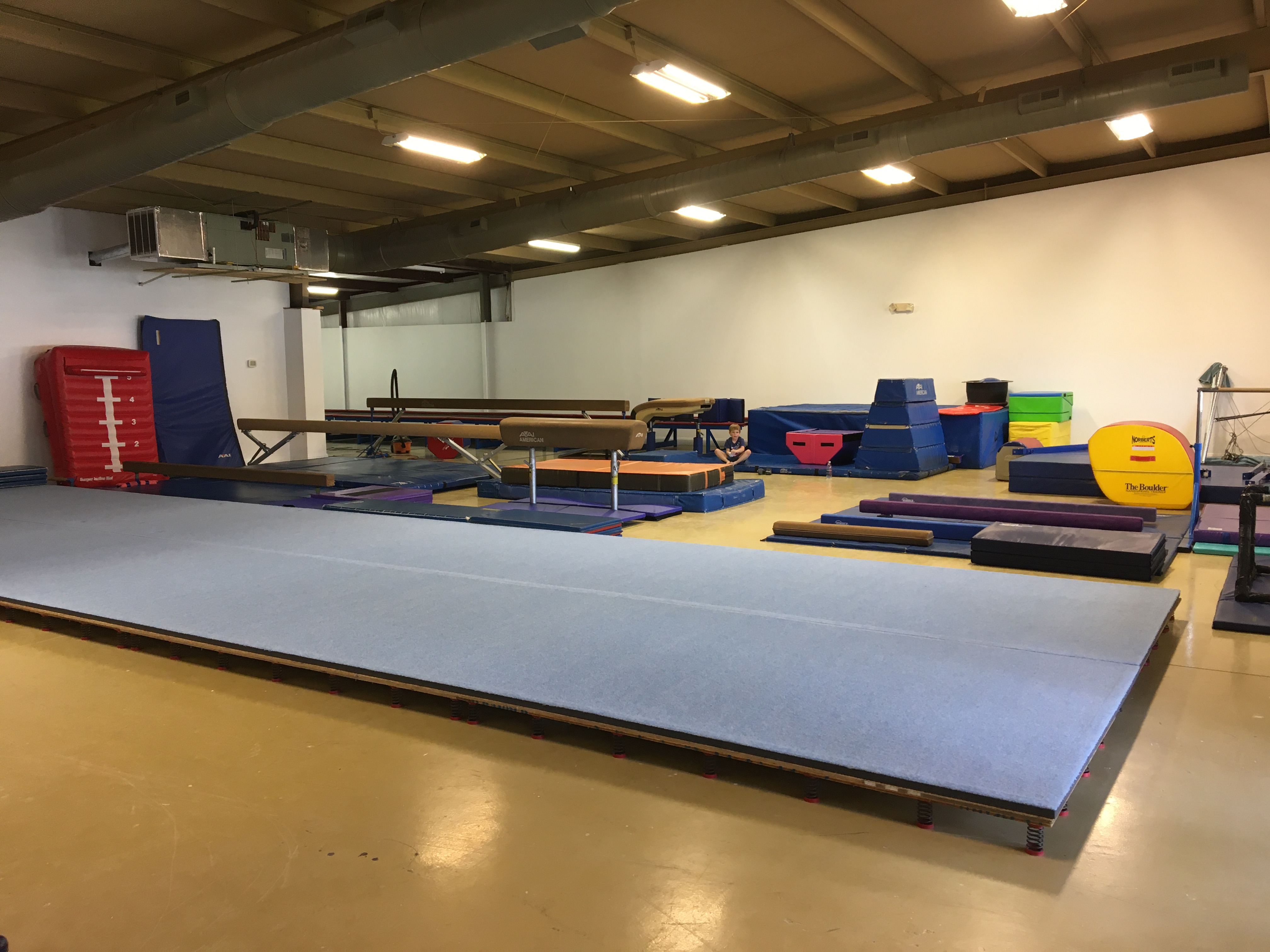 New Big Gym in Progress